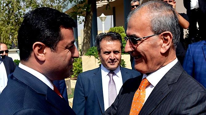 Fotoğraflarla HDP heyetinin Kürdistan ziyareti galerisi resim 32