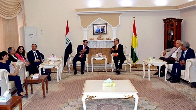 Fotoğraflarla HDP heyetinin Kürdistan ziyareti galerisi resim 34