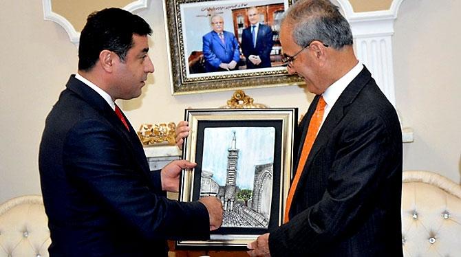 Fotoğraflarla HDP heyetinin Kürdistan ziyareti galerisi resim 35