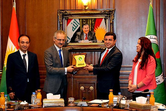 Fotoğraflarla HDP heyetinin Kürdistan ziyareti galerisi resim 39