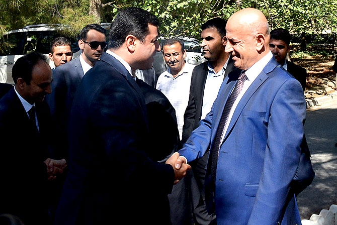 Fotoğraflarla HDP heyetinin Kürdistan ziyareti galerisi resim 41