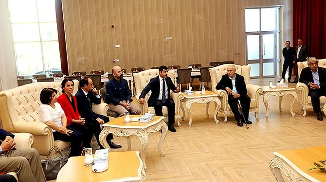 Fotoğraflarla HDP heyetinin Kürdistan ziyareti galerisi resim 42