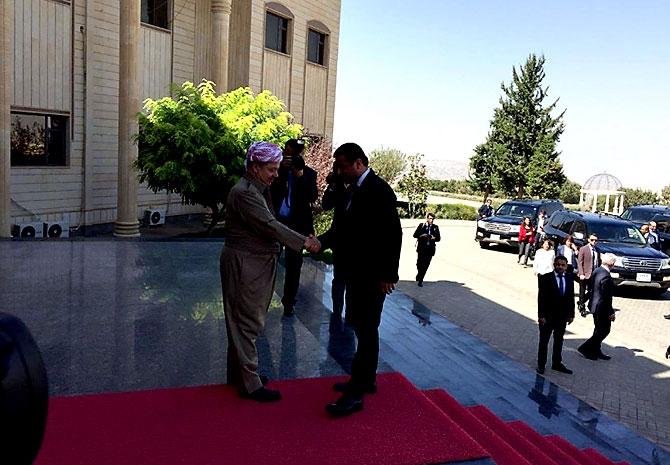 Fotoğraflarla HDP heyetinin Kürdistan ziyareti galerisi resim 5