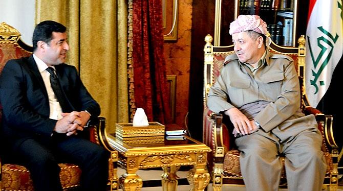 Fotoğraflarla HDP heyetinin Kürdistan ziyareti galerisi resim 6