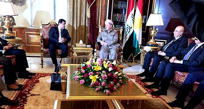Fotoğraflarla HDP heyetinin Kürdistan ziyareti galerisi resim 7