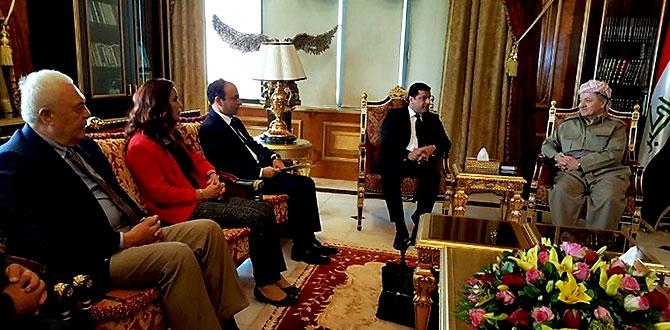 Fotoğraflarla HDP heyetinin Kürdistan ziyareti galerisi resim 8