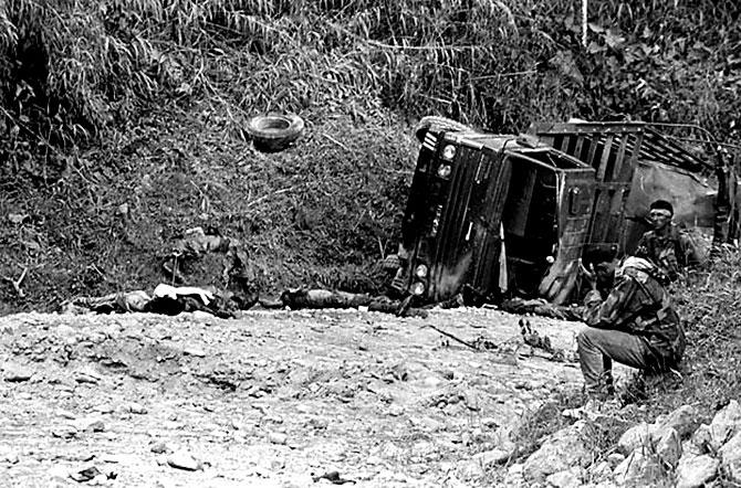 Fotoğraflarla: Kolombiya'da 52 yıl süren savaş galerisi resim 16
