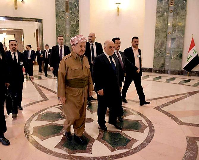 Fotoğraflarla Mesud Barzani'nin Bağdat ziyareti galerisi resim 10