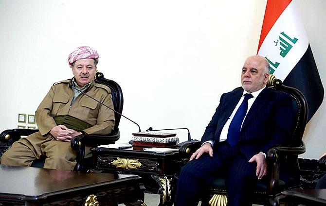 Fotoğraflarla Mesud Barzani'nin Bağdat ziyareti galerisi resim 4