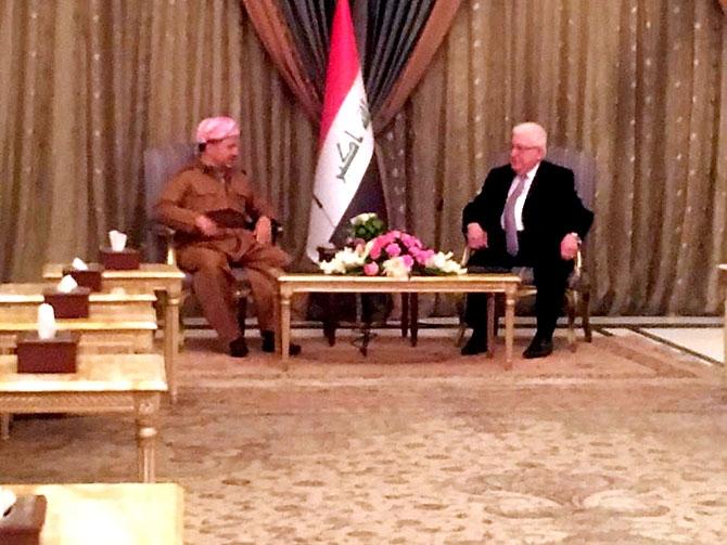 Fotoğraflarla Mesud Barzani'nin Bağdat ziyareti galerisi resim 8