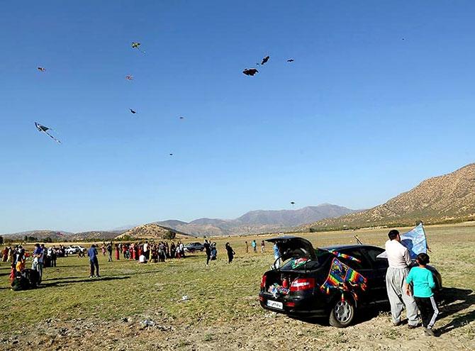 Meriwan'da uçurtma şöleni... galerisi resim 6