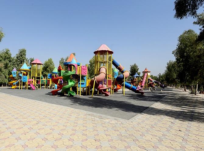 Hewler'in en büyük parkı: Sami Abdurrahman Parkı galerisi resim 4