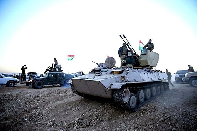 Fotoğraflarla Peşmerge'nin Musul Operasyonu galerisi resim 13