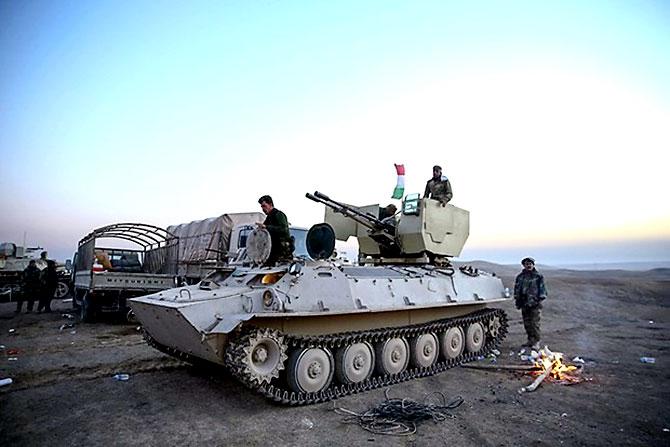 Fotoğraflarla Peşmerge'nin Musul Operasyonu galerisi resim 19