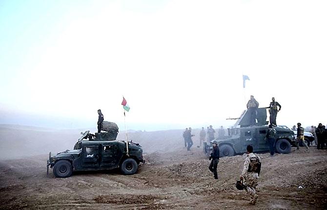 Fotoğraflarla Peşmerge'nin Musul Operasyonu galerisi resim 24