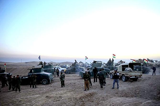 Fotoğraflarla Peşmerge'nin Musul Operasyonu galerisi resim 25