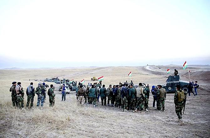 Fotoğraflarla Peşmerge'nin Musul Operasyonu galerisi resim 28