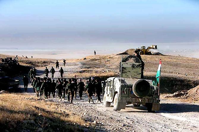 Fotoğraflarla Peşmerge'nin Musul Operasyonu galerisi resim 44