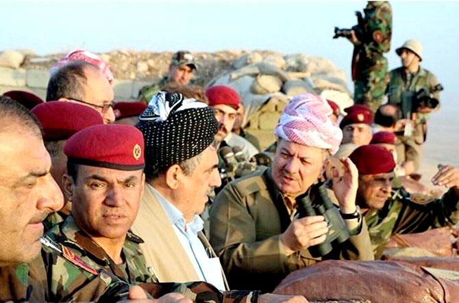 Fotoğraflarla Peşmerge'nin Musul Operasyonu galerisi resim 95