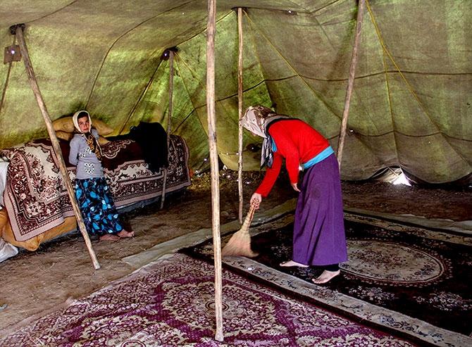 Fotoğraflarla Horasan göçerleri galerisi resim 15