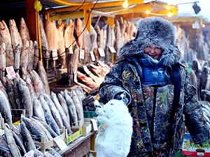 Dünyanın en soğuk şehri Yakutsk'da hayat