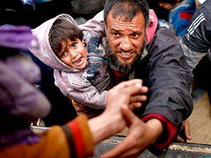Reuters objektifinden Musul'dan kaçış
