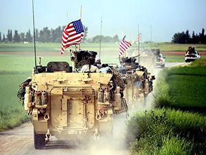 ABD zırhlıları Rojava-Türkiye sınırında