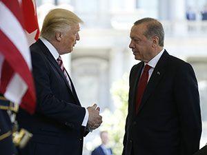 Reuters fotoğraflarıyla Trump-Erdoğan görüşmesi