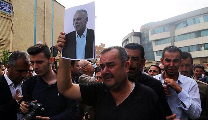 Goran lideri son yolculuğuna uğurlandı galerisi resim 1