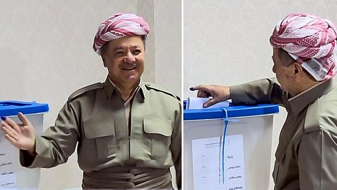Kürdistan referandumundan ilk kareler galerisi resim 1