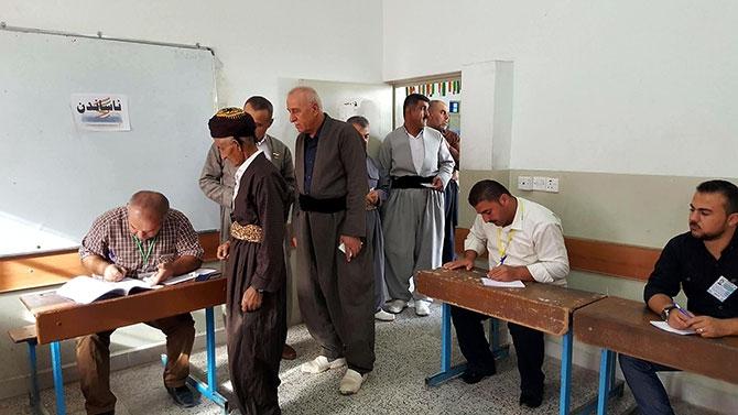 Kürdistan referandumundan ilk kareler galerisi resim 2