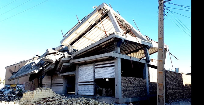 Kirmanşah'ta (Kasrı Şirin) deprem... galerisi resim 19