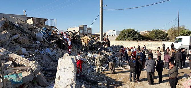 Kirmanşah'ta (Kasrı Şirin) deprem...