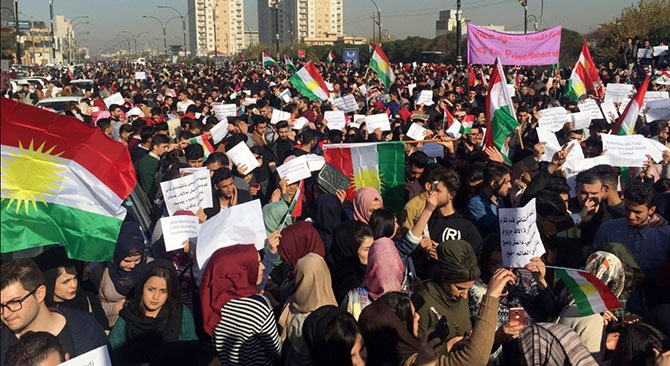 Kürdistan halkı İbadi'yi protesto etti galerisi resim 12
