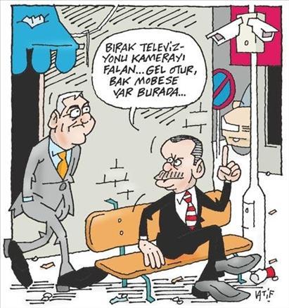 Karikatürlerle Mektuplaşma Siyaseti galerisi resim 2