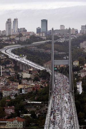 Avrasya Maratonundan renkli kareler galerisi resim 1