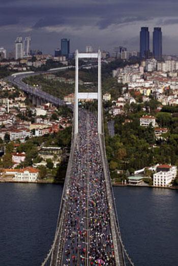 Avrasya Maratonundan renkli kareler galerisi resim 2