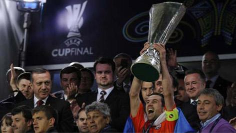 Son UEFA Kupası sahibini buldu galerisi resim 15