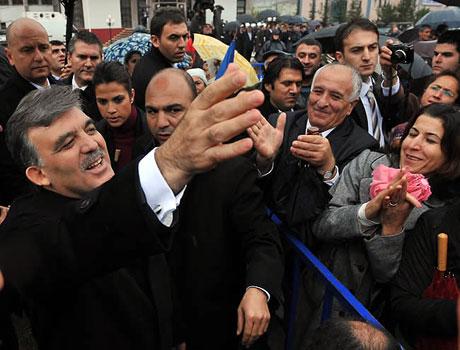 Cumhurbaşkanı Gül'e Tunceli'de Yoğun İlgi galerisi resim 10