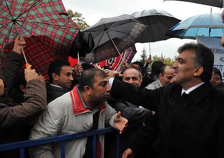 Cumhurbaşkanı Gül'e Tunceli'de Yoğun İlgi galerisi resim 12