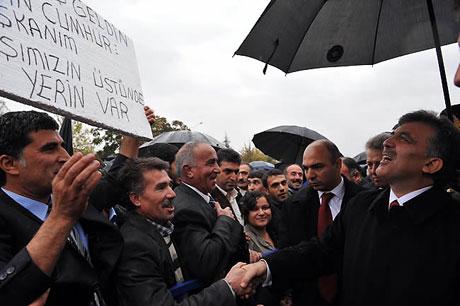 Cumhurbaşkanı Gül'e Tunceli'de Yoğun İlgi galerisi resim 13