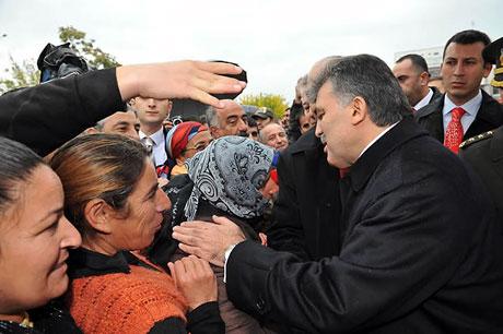 Cumhurbaşkanı Gül'e Tunceli'de Yoğun İlgi galerisi resim 15