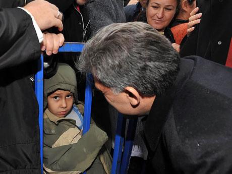 Cumhurbaşkanı Gül'e Tunceli'de Yoğun İlgi galerisi resim 16