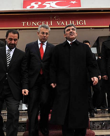 Cumhurbaşkanı Gül'e Tunceli'de Yoğun İlgi galerisi resim 24