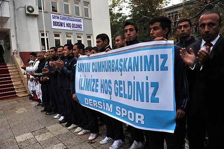 Cumhurbaşkanı Gül'e Tunceli'de Yoğun İlgi galerisi resim 25