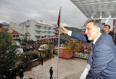 Cumhurbaşkanı Gül'e Tunceli'de Yoğun İlgi galerisi resim 29