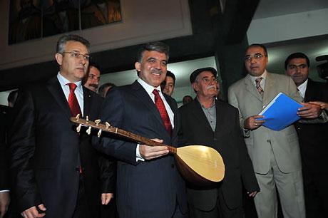 Cumhurbaşkanı Gül'e Tunceli'de Yoğun İlgi galerisi resim 39