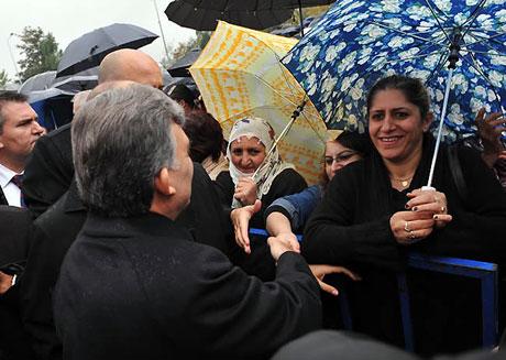 Cumhurbaşkanı Gül'e Tunceli'de Yoğun İlgi galerisi resim 5