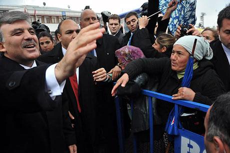 Cumhurbaşkanı Gül'e Tunceli'de Yoğun İlgi galerisi resim 9