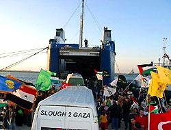 'Filistin konvoyu' bu gece Gazze'de!